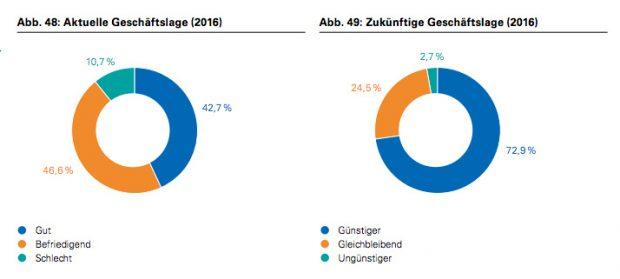 Deutscher Startup Monitor 2016: Gründer blicken optimistisch in die Zukunft. (Screenshot: Deutscher Startup Monitor 2016)